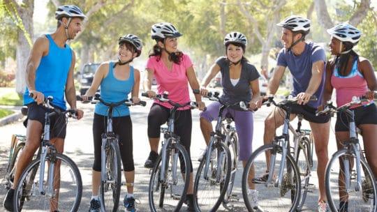 Gesundheitsfördernd: Fahrrad fahren für Körper und Seele