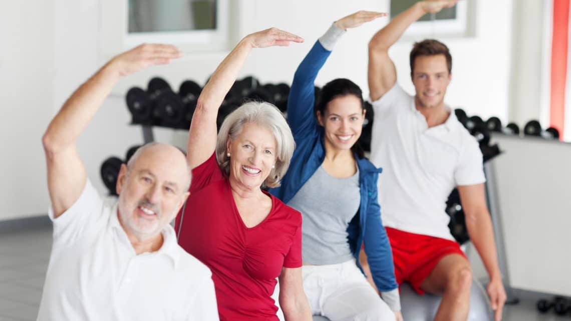 Muskelverjüngung dank Fitnesstraining